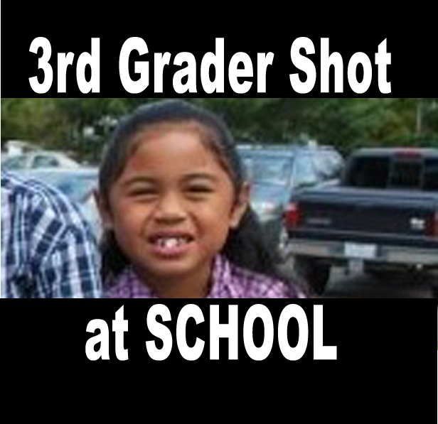8 Year Old 3rd Grader Shot at Elementary School