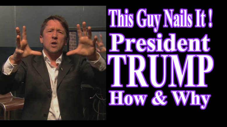 Jonathan Pie President Trump How & Why