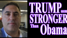 Trump stronger then Obama