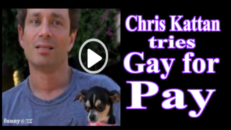 Chris Kattan tries Gay for Pay