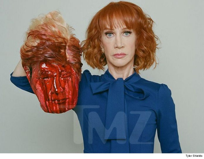 Kathy Griffin Beheads President Donald Trump