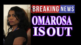 Omarosa Fired Quits Trump White House