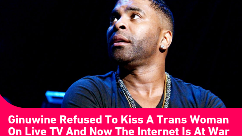 Ginuwine Not into Transgender Woman