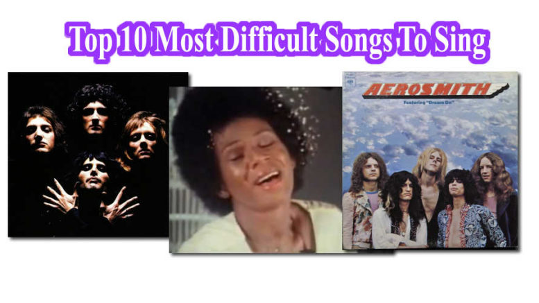 Top 10 songs that are difficult to sing